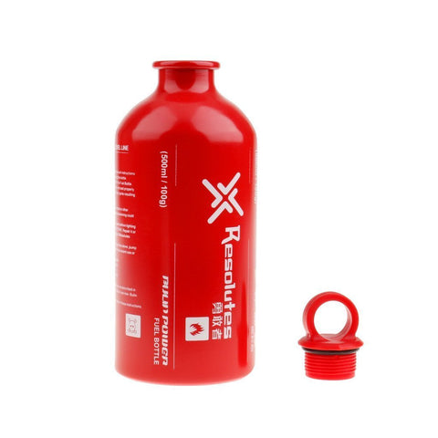 Yundxi Outdoor Camping Liquid Fuel Bottle Emergency Storage Can for Petrol Gas Oil Alcohol 0.5L/0.75L/1L/1.5L 500ml