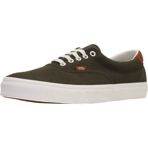 Vans Off The Wall Flannel Era 59  Sneakers (Dusty Olive) Skateboard Shoes