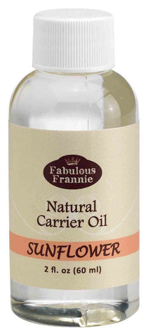 Sunflower Pure & Natural Carrier Oil 2 oz