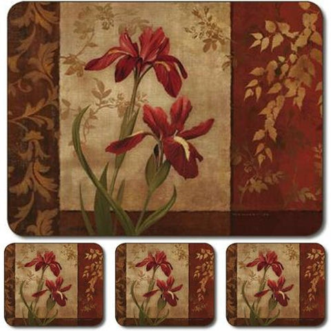 Jason Iris Time Placemats - Set of 4 (Large)