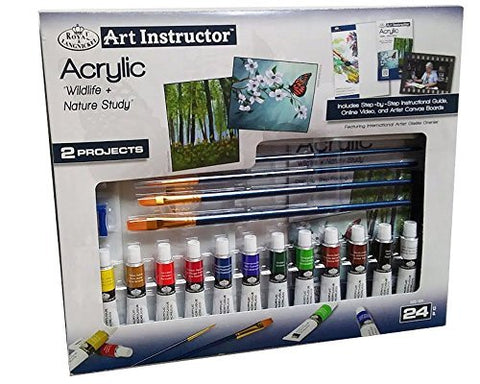 Royal PDQ Art Instructor Set Acrylic