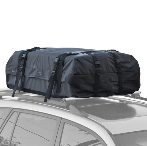 BDK RC-200 Haul Waterproof Roof Top Cargo Bag for SUV Van Car Auto (Soft Rooftop Carrier XL Supersonic Seals Heavy Duty Gear)