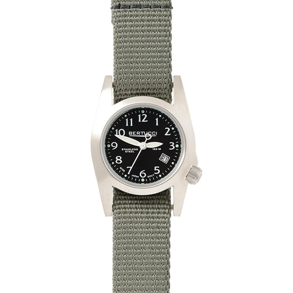 Bertucci M-1S Women's Field Watch Black - Defender Drab Nylon
