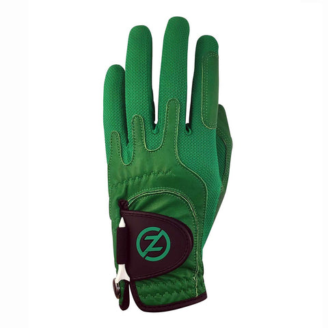 Zero Friction Men's Cabretta Elite Worn on Left Hand Green