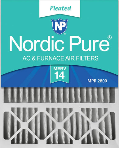 Nordic Pure 20x25x5LXREDM14-4 Lennox X6673_X6675 Replacement MERV 14 Filter