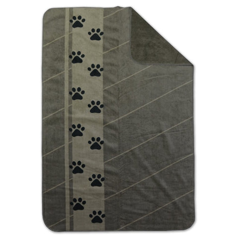 Rivers West Tundra Waterproof Fleece Blanket Olive 48X30