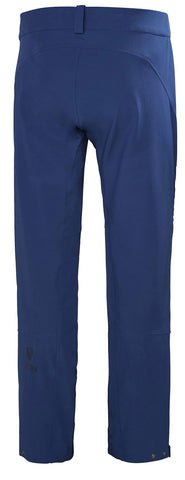 Helly Hansen Men's Odin Huginn Waterproof Breathable Hiking Pant, Catalina Blue, Medium