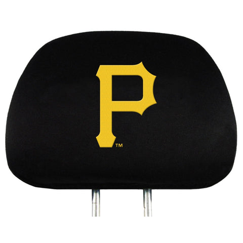 MLB Head Rest Covers, 2-Pack Pittsburgh Pirates