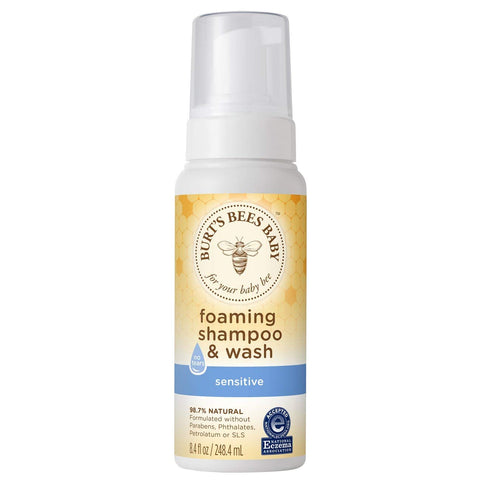 Burt's Bees Baby Foaming Shampoo & Wash - 8.4 Ounce