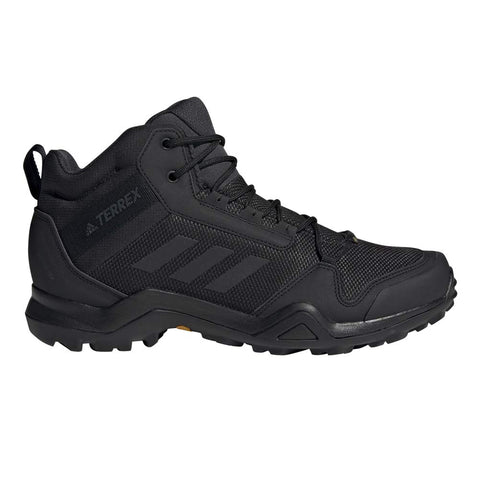 adidas outdoor Men's Terrex Ax3 Mid GTX Hiking Boot 12 Women/9.5 Men Black/Black/Carbon