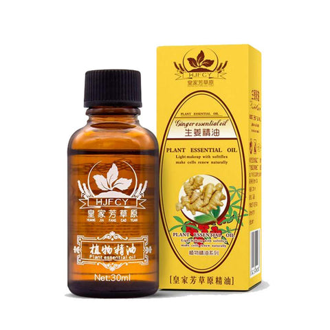 Dragon Honor 2019 New Plant Lymphatic Drainage Ginger Essential Oils