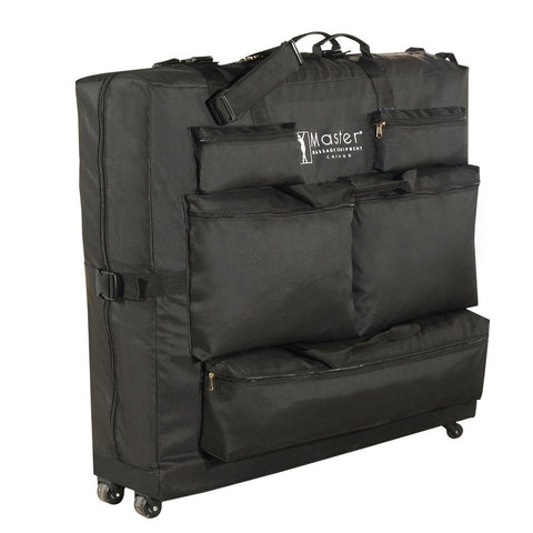 Master Massage Universal Wheeled Massage Table Carry Case,bag for Massage Table,Black. With Wheel