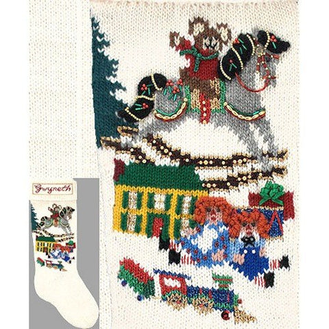 Elegant Heirlooms Christmas Stockings Kits Christmas Morning Christmas-morning