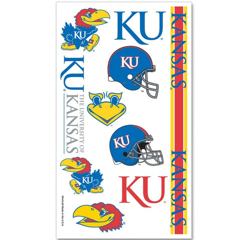 WinCraft NCAA University of Kansas 13899081 Tattoos