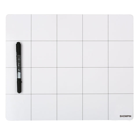 Magnetic Project Mat Showpin Large Size Small Parts Work Mat Peg Board with A Board Marker - Preventing the Small Screws from Getting Lost and Unorganized - Great for Writing Notes(9.8x11.8 inches) 9.8 X 11.8 inch