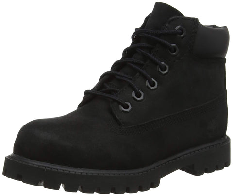 Timberland Kids' 6  Premium Waterproof Boots for Toddlers Toddler (1-4 Years) 5.5 M US Toddler Black Nubuck