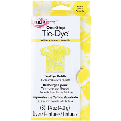Tulip 29036 One-Step Dye Refills Yellow 1 Pack