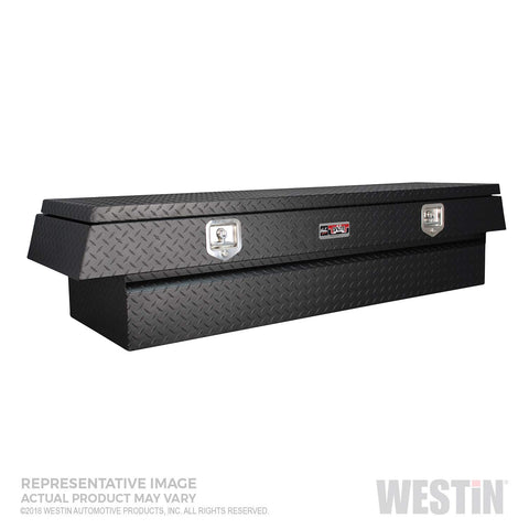 Westin 80-UB48-20TD-BT Textured Black Tool Box (Brute BRTBX Underbody 48in x 20in w/Top Drawer)