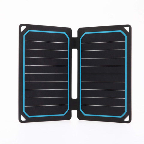 Renogy Portable E.Flex Monocrystalline 10W Plus Solar Panel with USB Port for Charging, Hiking and Biking