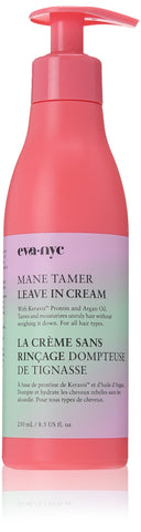 EVA NYC Mane Tamer Leave In Cream 8.5 Oz with Argan Oil and Keravis