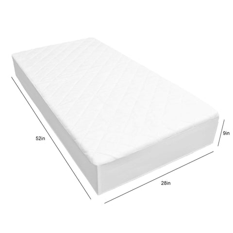 Adoric Crib Mattress Protector Waterproof Crib Mattress Protector, Natural Bamboo, Ultra Soft, Breathable