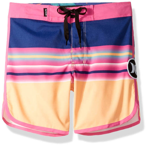Hurley Boys' Stretch Board Shorts 3T Orange Pulse