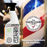 Salon Furniture Chrome - Hydraulic Base Oil Cleaner by The Salon Chair Guys (Chrome and Metal Cleaner) Chrome Cleaner