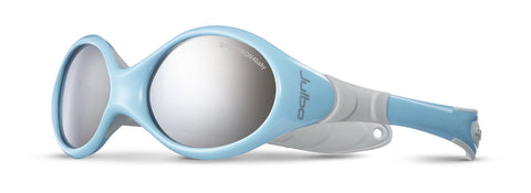 Julbo Looping I Baby Sunglasses, Spectron 4 Baby Lens, Blue/Grey, 0-18 months