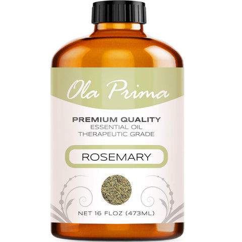 16oz - Premium Quality Rosemary Essential Oil (16 Ounce Bottle) Therapeutic Grade Rosemary Oil 16 Fl. Oz