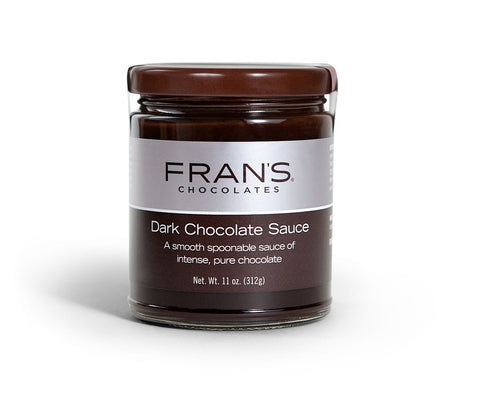 Fran's Dark Chocolate Sauce, 10 oz