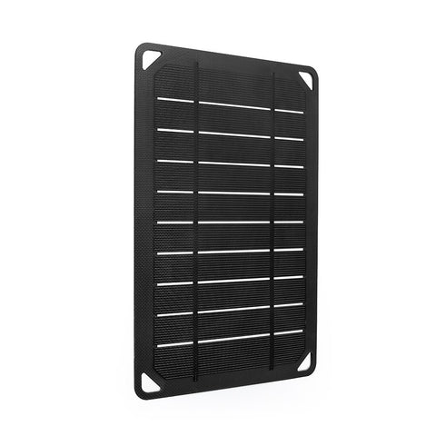 Renogy Portable E.Flex Monocrystalline 5W Solar Panel with USB Port for Charging, Hiking and Biking Black