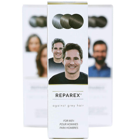 Reparex For Men - No More Gray in the Mirror - Safe and Easy to Use Gray Hair Treatment - Gray Hair Solution - Not a Gray Hair Dye