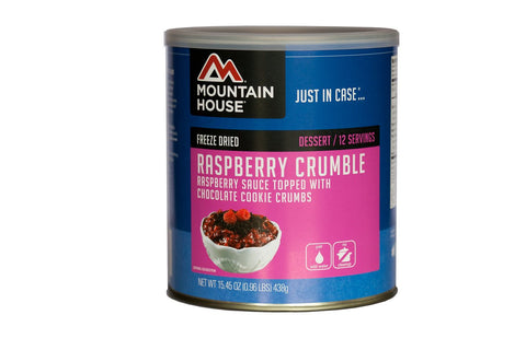 Mountain House Raspberry Crumble Can