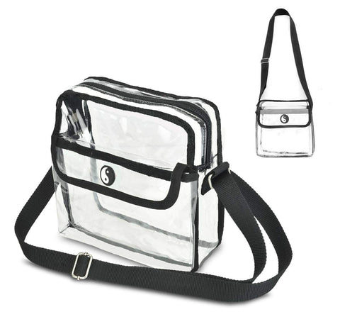 Premium Quality Clear Crossbody Bag- Stadium Approved for the Game, Concert or Work