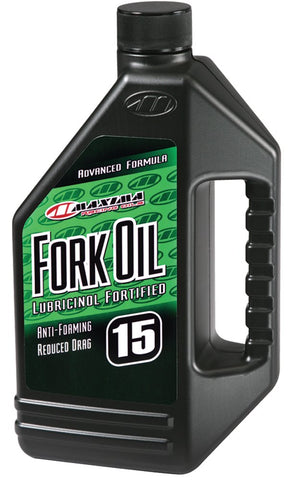 Maxima 56916 15WT Standard Hydraulic Fork Oil - 16 oz. Bottle 16 Ounces