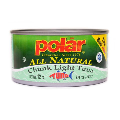 MW Polar Tuna, All Natural Chunk Light Tuna, 12-Ounce 12 Ounce