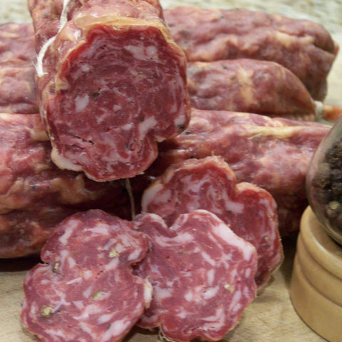 Sweet Soppresata Natural Dry Cured Sausage, Nitrate Free