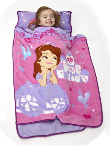 Disney Toddler Rolled Nap Mat, Princess Sofia