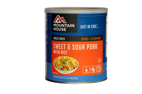 Mountain House Sweet & Sour Pork with Rice Can