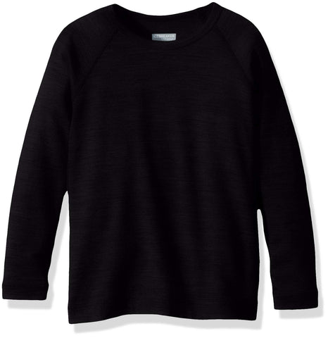 Icebreaker Merino Kids' 200 Oasis Long Sleeve Crewe 06 Black