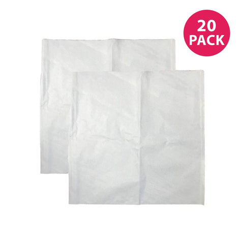 Think Crucial Replacement Coffee Filters Compatible With Toddy Paper Coffee Filter Part - 20.3 x 11.1 x 0.4 - Perfect For Cold Brew System Five (5) Gallon Commercial Cold Brew Brewers (20 Pack) 20 Pack
