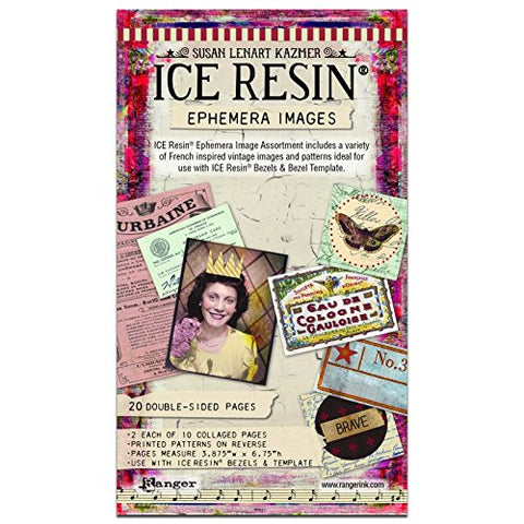 ICE Resin® IRA50469 Ephemera Image Assortment