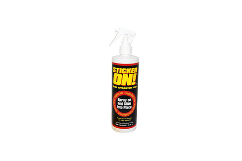 Hardline Products Sticker-On! Decal Application Fluid, 16 Ounces
