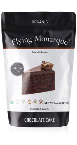 Organic Gluten-Free Chocolate Cake Mix, Chocolate, 0.91 Pound