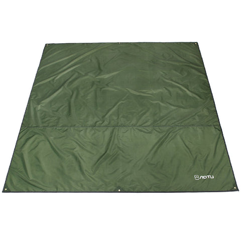 Azarxis Waterproof Camping Tent Tarp Hammock Rain Fly Footprint Ground Cloth Shelter Sunshade Beach Picnic Blanket Mat for Outdoor Camping Park Lawn Grass Hiking Backpacking Green S - 59 x 86.6 inches