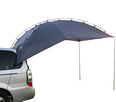 Hasika Light Weight Waterproof, Durable Tear Resistant, Multifunction Uses Auto Camping/SUV, MPV,Trailer,Teardrop, Hatchback, Sedan Anti-uv Tent for Beach Camping/Auto Traveling Tent/Shade Awning