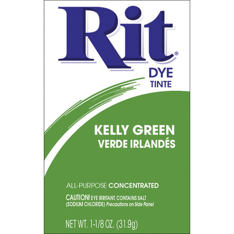 Rit Dye 3-32 11749 Powdered Fabric Dye, Kelly Green
