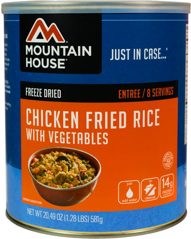 Mountain House Chicken Fried Rice Can