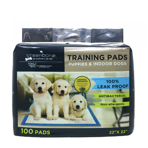 Humane Society Indoor Pet Training and Puppy Pads 100 Count