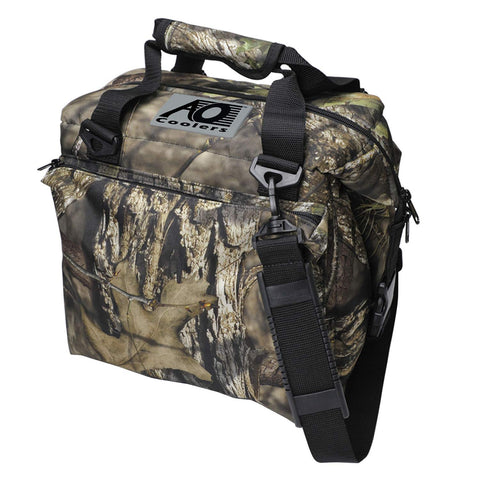 AO Coolers Traveler Soft Cooler with High-Density Insulation 12-can Mossy Oak